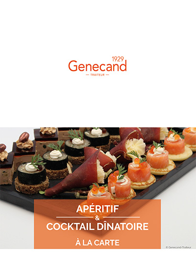 2019 aperitif cocktail a la carte