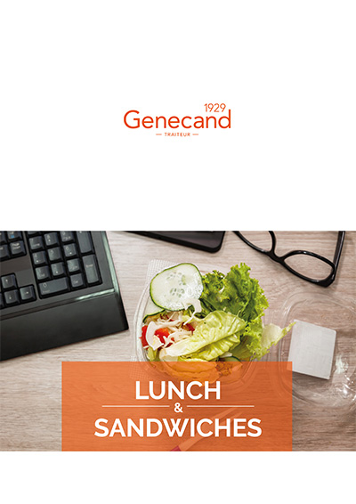 2018 lunches et sandwiches